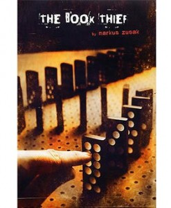 the book thief markus zusak 247x300 Double BANG Book Review: The Girl with the Dragon Tattoo + The Book Thief