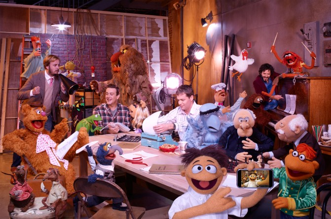 muppets movie filmmakers jason segel bret mckenzie james bobin nick stoller BANG Movie Review: The Muppets