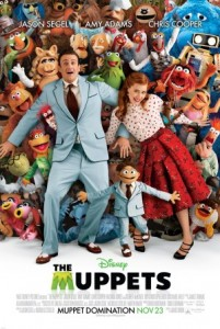 the muppets movie poster jason segel amy adams 201x300 BANG Movie Review: The Muppets