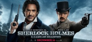 sherlock holmes a game of shadows robert downey jr jude law 300x137 BANG Movie Review: Sherlock Holmes   A Game of Shadows