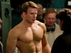 captain america chris evans avengers 300x225 Non Expert Thoughts on The Avengers