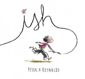 ish by peter h reynolds 300x279 My Sons Epic Third Birthday Celebrations