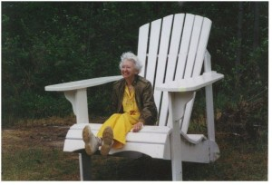 Sue Wehking July 2001 en route to family reunion at Marquette Michigan 300x204 For my sparkly grandmother