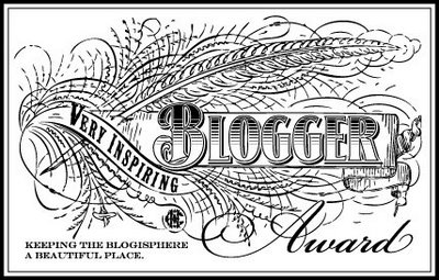 very inspiring blogger award The Very Inspiring Blogger Award