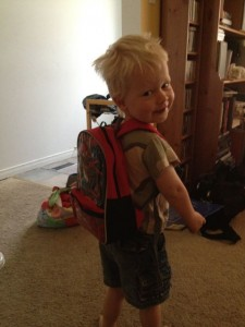 backpack 225x300 Summer with a three year old