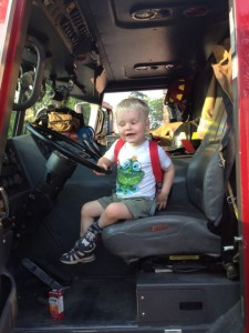 fire truck 225x300 Summer with a three year old