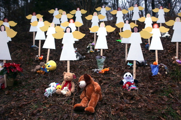 sandy hook angels newtown Too much to say, too little to say