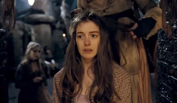 anne hathaway haircut les miserables fantine A Review of All Things Misérables