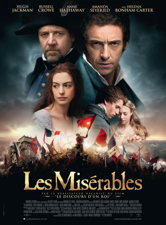 les miserables movie poster A Review of All Things Misérables