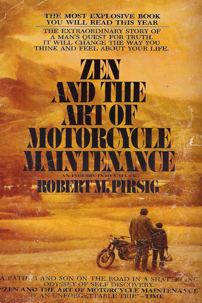 Pirsig zen and the art of motorcycle maintenance BANG Book Review: 9 Volume Bookstravaganza!