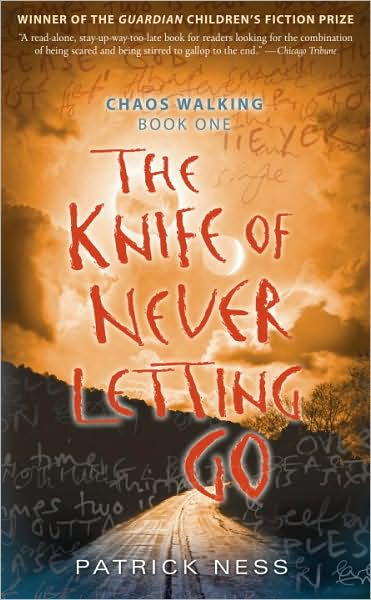 The Knife of Never Letting Go by Patrick Ness BANG Book Review: 9 Volume Bookstravaganza!