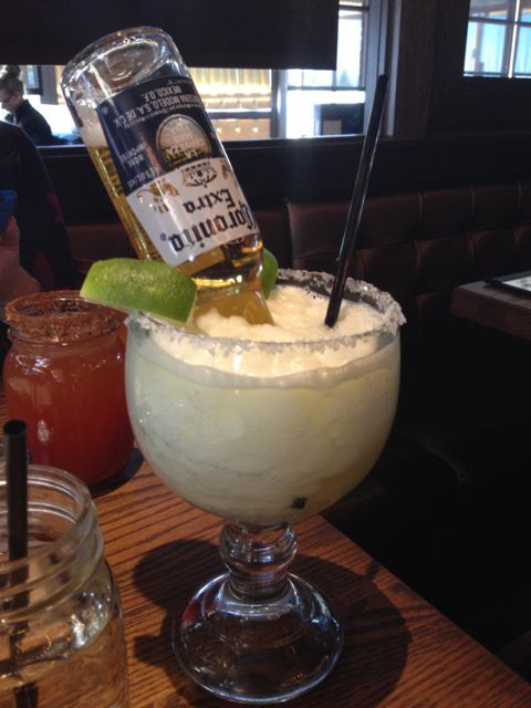 The Mexican Bulldog. If you're alarmed, please note that's a Coronita, not a Corona. Ahem.
